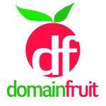 domain fruit logo