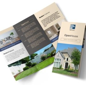 Real Estate Brochure Designing